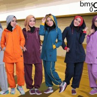 Setelan Baju Olahraga Wanita Muslim Believe BMS 09