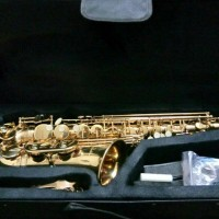 Saxophone Alto Gold Merk Paladin Original RECOMENDED. BEST QUALITY