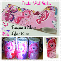 Border Wall Sticker Pony