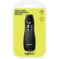 LOGITECH WIRELESS PRESENTER R400 Laser Pointer Presentasi- ORIGINAL