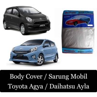 aksesoris mobil Body Cover Sarung Mobil Ayla Agya KLASIK MODERN
