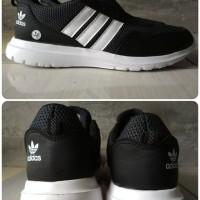 Sepatu Adidas Running Warna Hitam