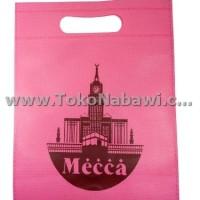 Tas Kain Mecca Kuning Haji Umroh Isi 12 pcs/Tas Souvenir/Paper Bag