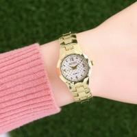 Promo murah jam tangan seiko wanita / jtr 1114 gold