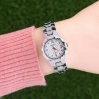 Promo jam tangan wanita seiko murah / jtr 1114 silver Murah