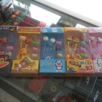 (Sale) HEADSET KARAKTER 3D.READY JUGA PAKET POWERBANK BONEKA 9000MAH