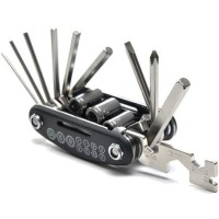 Ready Multifunctional 15 In 1 Edc Repair Tool Stainless Steel Kunci