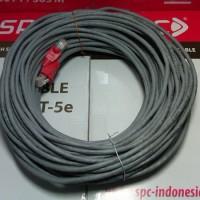 istimewa Kabel Lan 30 Meter UTP + RJ45 Straight - Tinggal Pakai