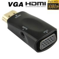 terbaik HDMI to VGA Converter With Audio Port - 1080P