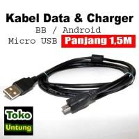 termurah Kabel Data Micro USB untuk HP Blackberry Bisa untuk Charger