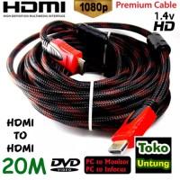 promo Kabel HDMI 20 Meter HDMI to HDMI