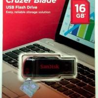 limited edition Flashdisk 16 GB Sandisk Cruzer Blade USB Flash Drive