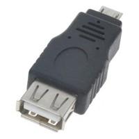 kualitas bagus OTG Adapter USB Micro USB to USB Female
