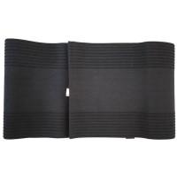 Size XXXL Sabuk Pelangsing Tubuh Gang Qi Slimming Belt - Hitam