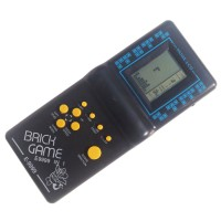 Game Tetris Mainan Jadul Tahun 90an Brick Game - Hitam