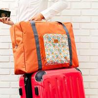 travel 281 FOLDABLE TRAVEL BAG /HAND CARRY TAS LIPAT / FOLDING BOSTON