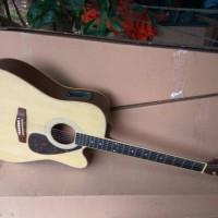 Gitar akustik elektrik cort eq7545T
