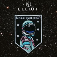 Space Explorer - Iron Embroidered Patch Patches Sticker Emblem Bordir