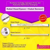 Kabel Head + Sensor Printer Epson L110 L210 L220 L360 L565 L350 L300