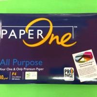 kertas HVS fotocopy PaperOne F4 80 g/m2