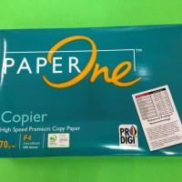 Kertas HVS fotocopy Paper One F4 70 g/m2