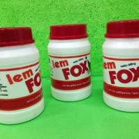 Lem FOX white adhesive / lem putih - 500gram