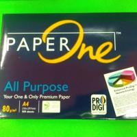 Kertas HVS PaperOne A4 80 g/m2