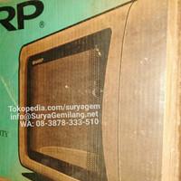 Sharp R248 Microwave Oven 800 Watt Auto Cook Defrost Reheat Asli, Baru