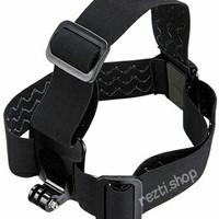 Adjustable Head Strap Headband - Aksesoris Action Camera Sports Cam