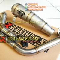 Knalpot R9 GP Series Titanium SB CBR 150 R Lokal New CBR 150R Facelift