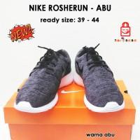 Sepatu Sport Nike Rosherun Pria Wanita Dark Grey Online Shop