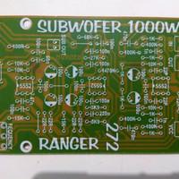 PCB Aktif filter Subwoofer 272 Ranger