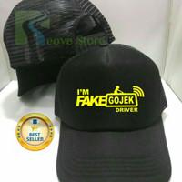 Topi Trucker Fake Gojek Driver Baseball Snapback - Reove Store
