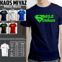 KAOS T-SHIRT MUSLIM SMILE IS SUNNAH