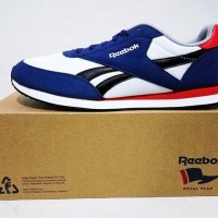 Sneakers Casual Reebok Royal CL Jog 2 Sea Biru Putih Original