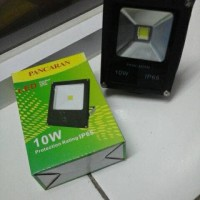LED SOROT TIPIS PANCARAN 10W 6400K PUTIH/ LAMPU TEMBAK 10 WATT