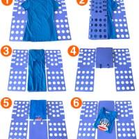 Alat melipat Dewasa baju praktis tanpa setrika Manual