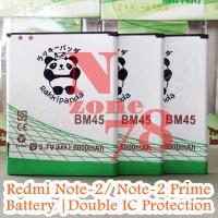 Terbaru BATERAI XIAOMI REDMI NOTE 2 BM45 BM-45 RAKKIPANDA DOUBLE POWER