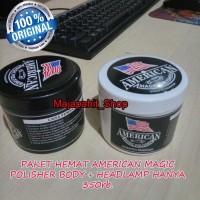 Paket hemat american magic polisher body dan headlamp