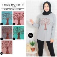 kaos tree bordir