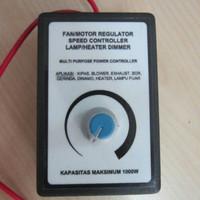 Pengatur kecepatan Dimmer 1000w 1000 watt 220v ac speed controller