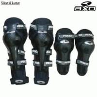 Deker / Pelindung Kaki Dan Tangan Saat Berkendara Motor AXO