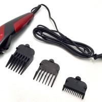 Heles HCL-008 Magnetic Clipper Alat Cukur Pilihan Professional - Merah