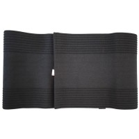 Size L Sabuk Pelangsing Tubuh Gang Qi Slimming Belt - Hitam