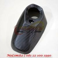 Cover Tutup Ujung Knalpot Muffler NEMO Carbon Yamaha XMAX 250