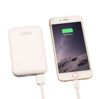 Powerbank Robot RT7200 6600mAh 2 USB Port for Android iPhone White