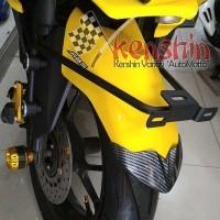 Braket Plat Nomor Spakboard Set Berkualitas Yamaha AEROX 155
