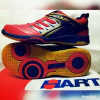 NEW Sepatu Badminton Hart HS 305 Red/Navy