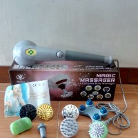 Magic Massager 8in1/Alat Pijat Elektrik 8in1/Body Massager Blueidea