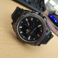 Jam Tangan Pria Cowok Sport Murah G Shock GA 1000 Premium Full Black